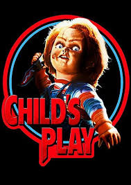 Child's Play movie poster (with Chuckie)