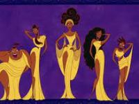 The 5 Muses from Disney's HERCULES movie
