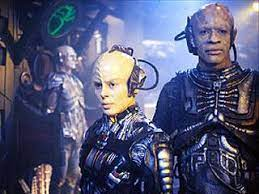 Tuvok and Torres as drones