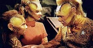 Neelix with Dexa and her son, Brax