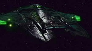 The ship of the aliens that are never named and do not speak